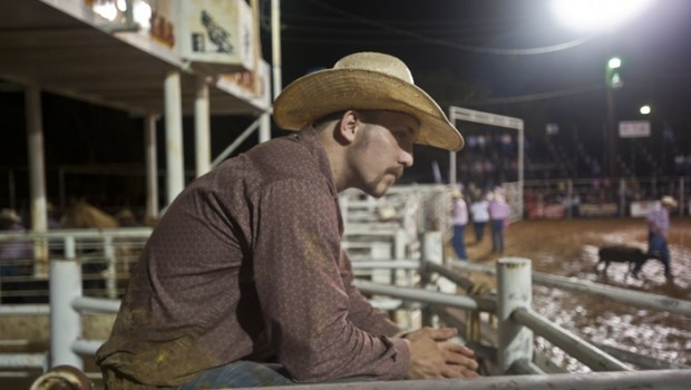 A lot of what goes on during a rodeo is waiting; the events themselves last only seconds.