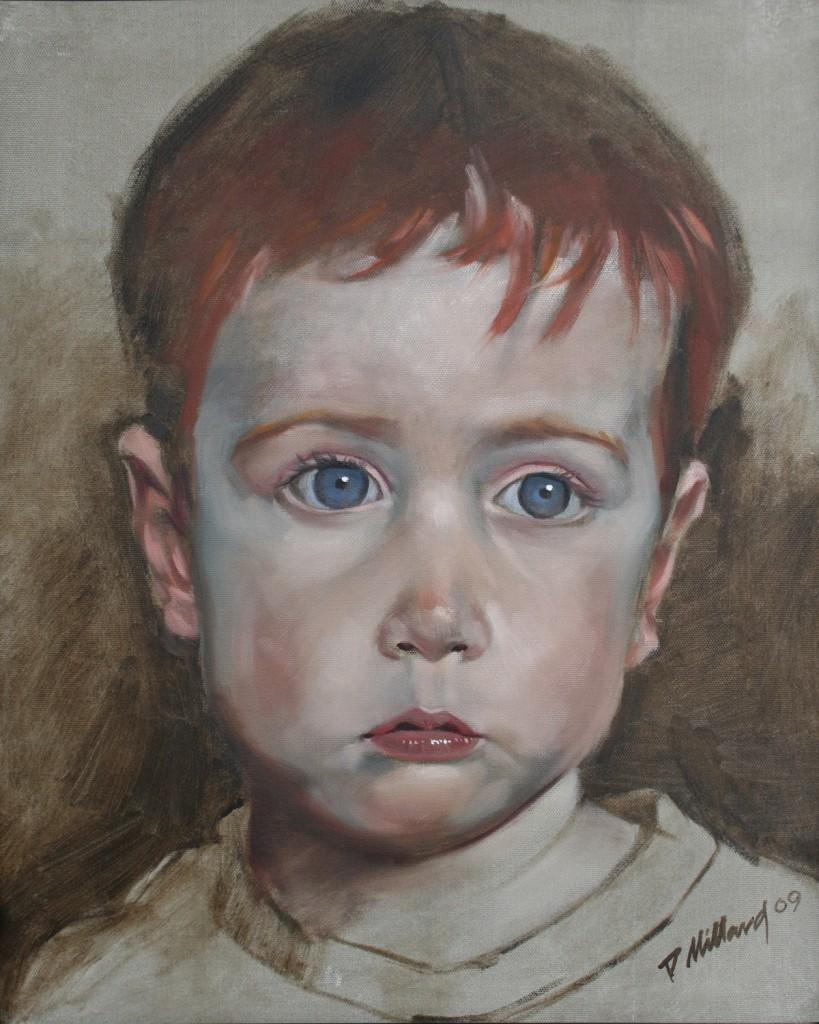 Elliot - 16X20 Oil on Canvas by Dennis Millard
