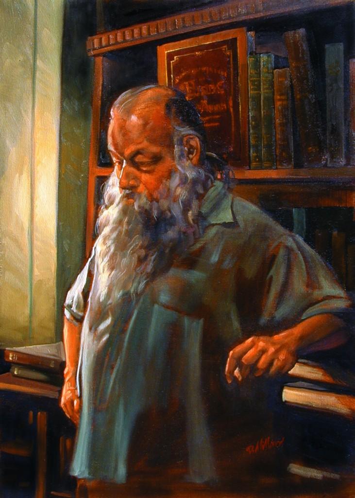Ken Sanders 26X32 Oil on Canvas by Dennis Millard