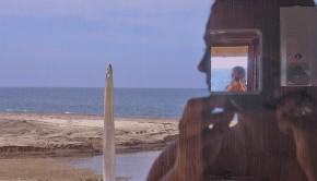 """Desierto de Namibe, Angola, 2006, de la serie """"Reflejos en un vidrio""""."""