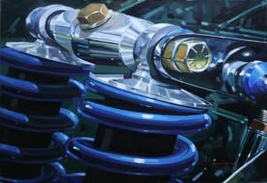 Terry Nish [Suspension Detail] by Dennis Millard