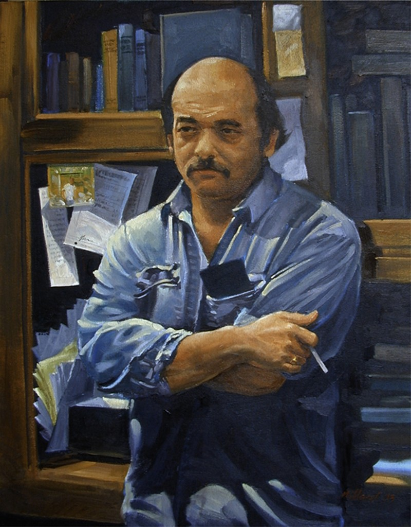 Pete Marshall - 16X20 Oil on Canvas by Dennis millard
