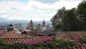 Vista de la ciudad de Bogotá | foto de Carolina Bustos