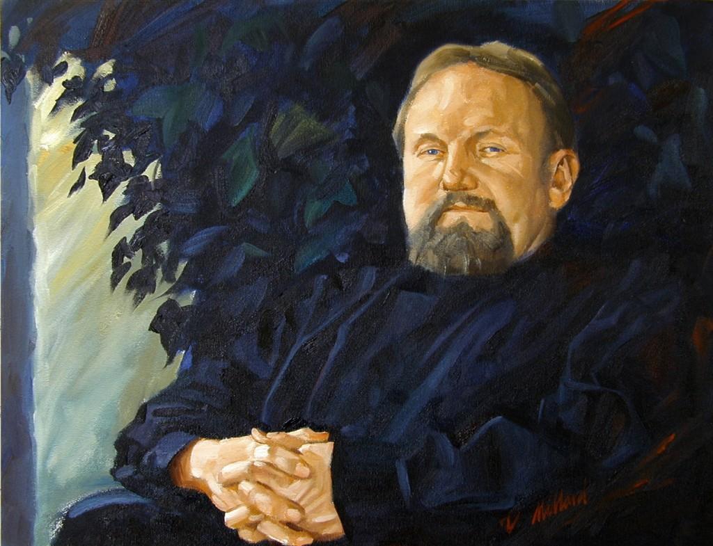 Warren Archer - 24X30 Oil on Canvas by Dennis Millard