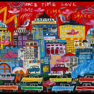 """Space time travel love"" de  Troy Henriksen"